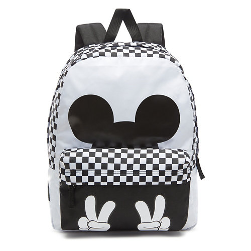 Disney+x+Vans+Checkerboard+Mickey+Realm+Backpack