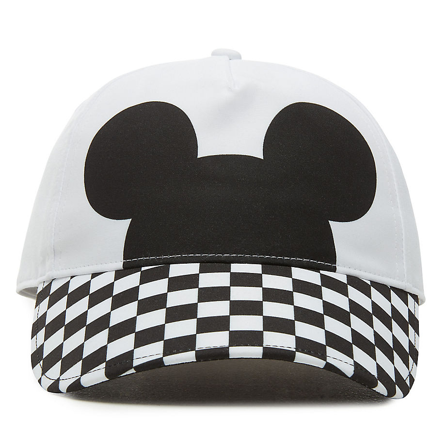 Casquette Disney X Checkerboard Mickey Court Side (white/black) , Taille TU - Vans - Modalova