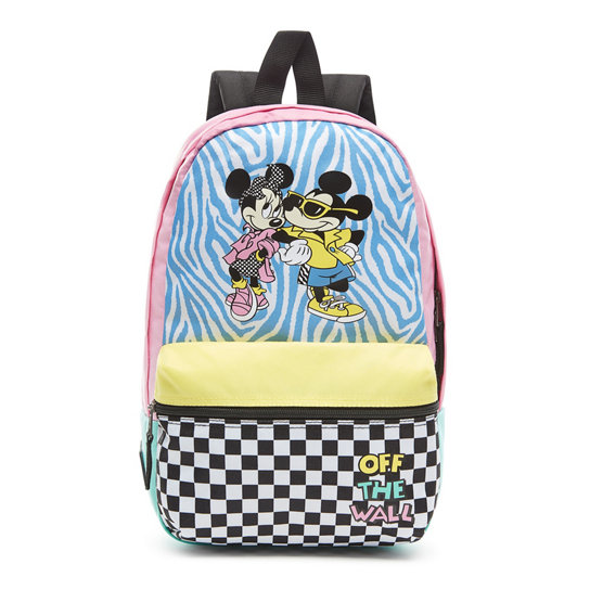 512ac3b665 Disney x Vans Hyper Minnie Calico Backpack | Multicolour | Vans