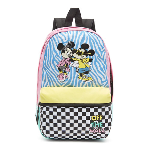Disney+x+Vans+Hyper+Minnie+Calico+Backpack