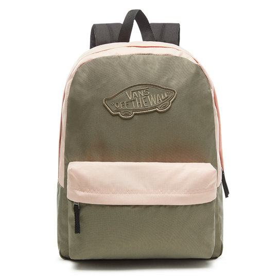 4663b9ff144 Realm Backpack | Green | Vans