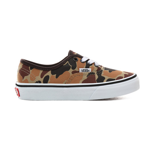 Kids Vintage Camo Authentic Shoes (4-8 years) | Vans