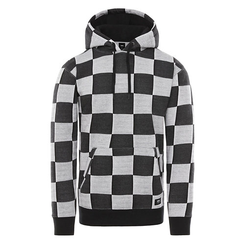 Checker+Jacquard+Sweatshirt