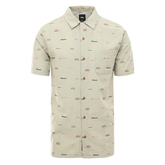 Vans X Yusuke Hanai Loggin Short Sleeve Buttondown Shirt | Vans