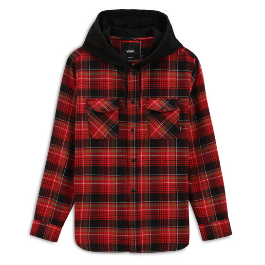 Parkway Hooded Flannel Shirt | Vans