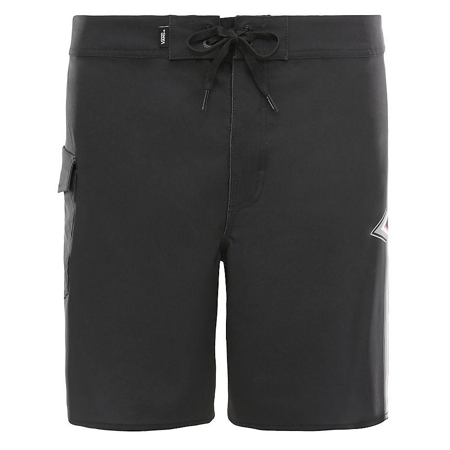 VANS Short De Bain Stringer 46cm (noir) Homme Noir, Taille 31
