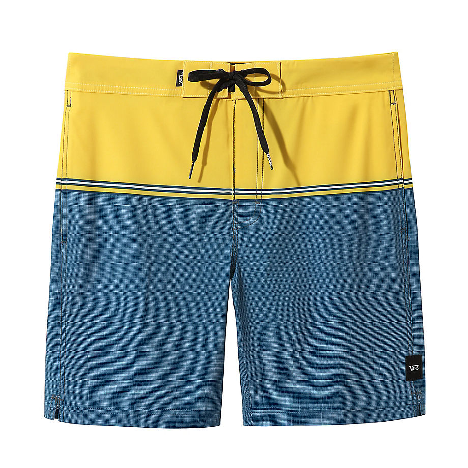 VANS Short De Bain Newland (sulphur-gibraltar Sea) Homme Bleu, Taille 28