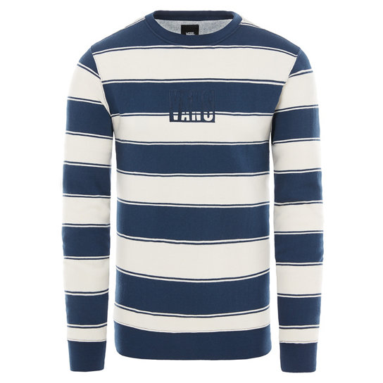 Vans Tall Box Stripe Crew Fleece | Vans