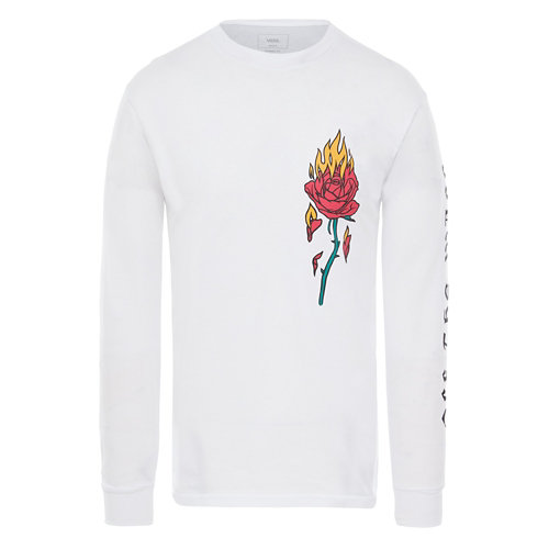 T-shirt+%C3%A0+manches+longues+Flaming+Rose