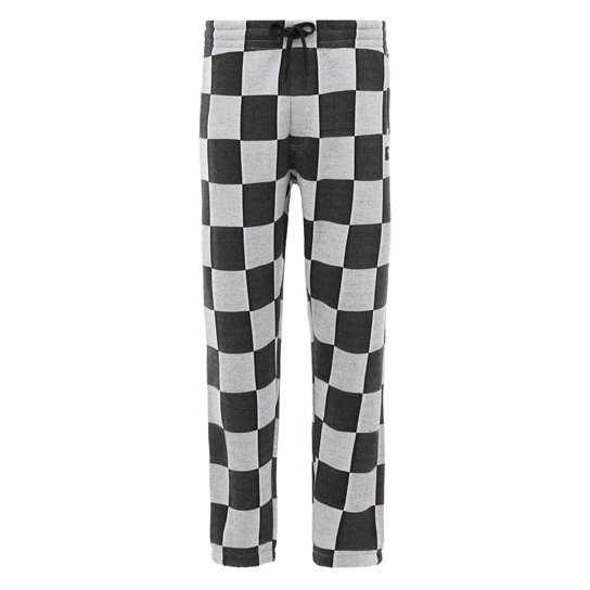 Checker Jacquard Fleece Trousers | Vans