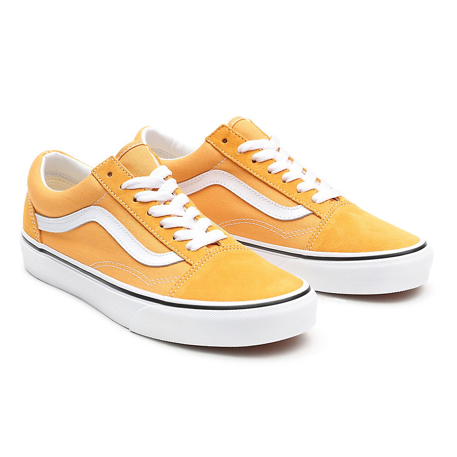 Vans  OLD SKOOL  women's Shoes (Trainers) in Yellow - VN0A3WKT3SP1