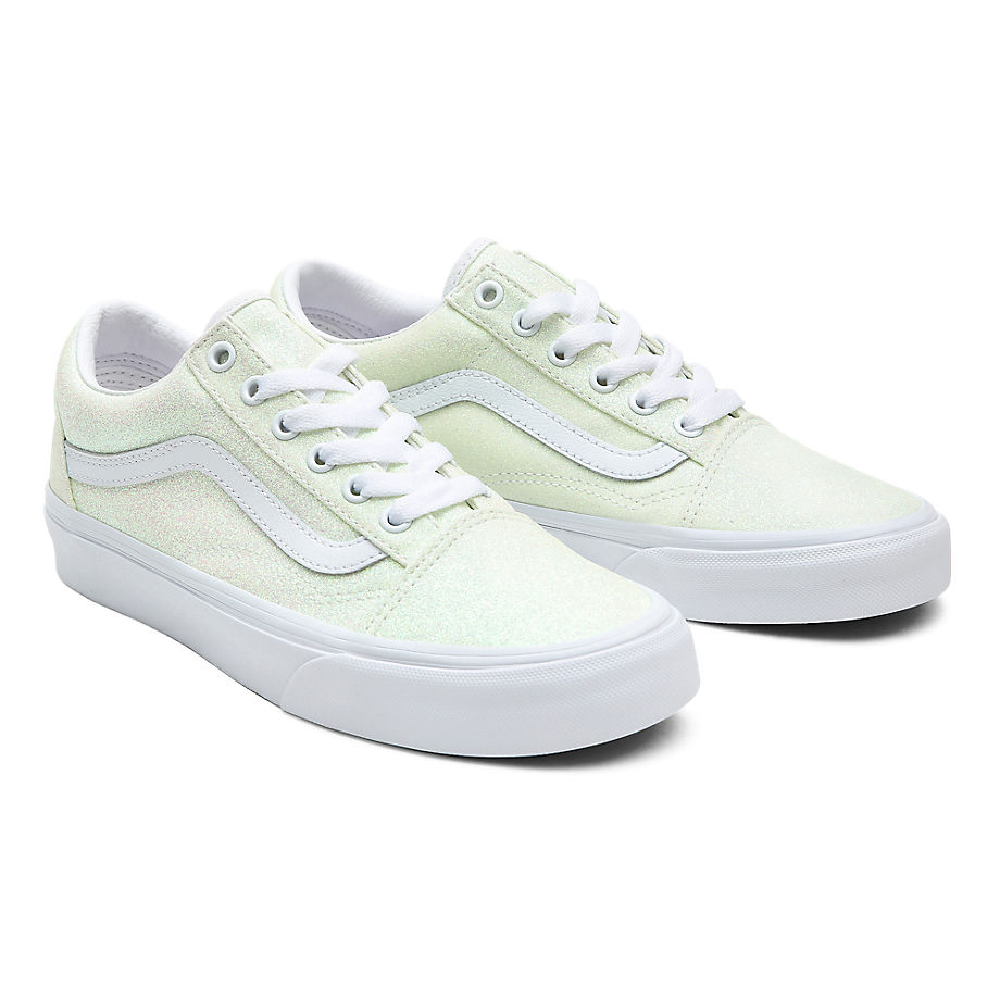 Vans  OLD SKOOL  women's Shoes (Trainers) in White - VN0A3WKT3UA1