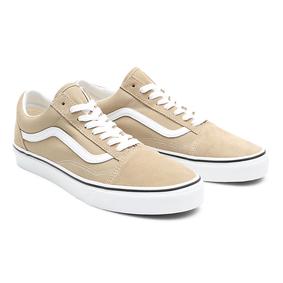 Vans  OLD SKOOL  women's Shoes (Trainers) in Beige - VN0A3WKT4G51