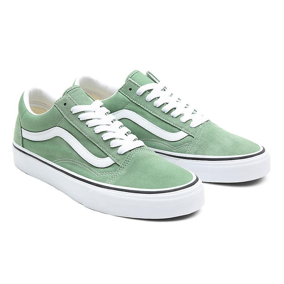 Vans  OLD SKOOL  women's Shoes (Trainers) in Green - VN0A3WKT4G61