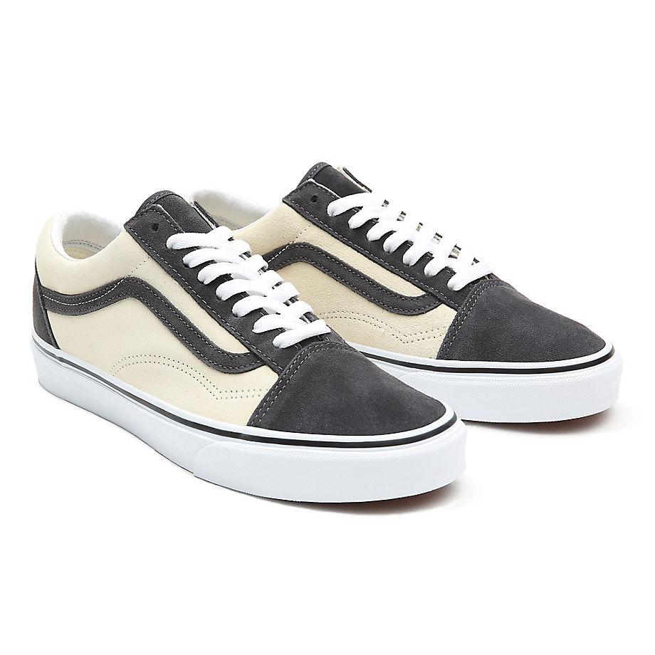 Sneaker Vans VANS Zapatillas De Ante Bicolor Old Skool ((2-tone Suede) Asphalt/afterglow) Mujer Gris