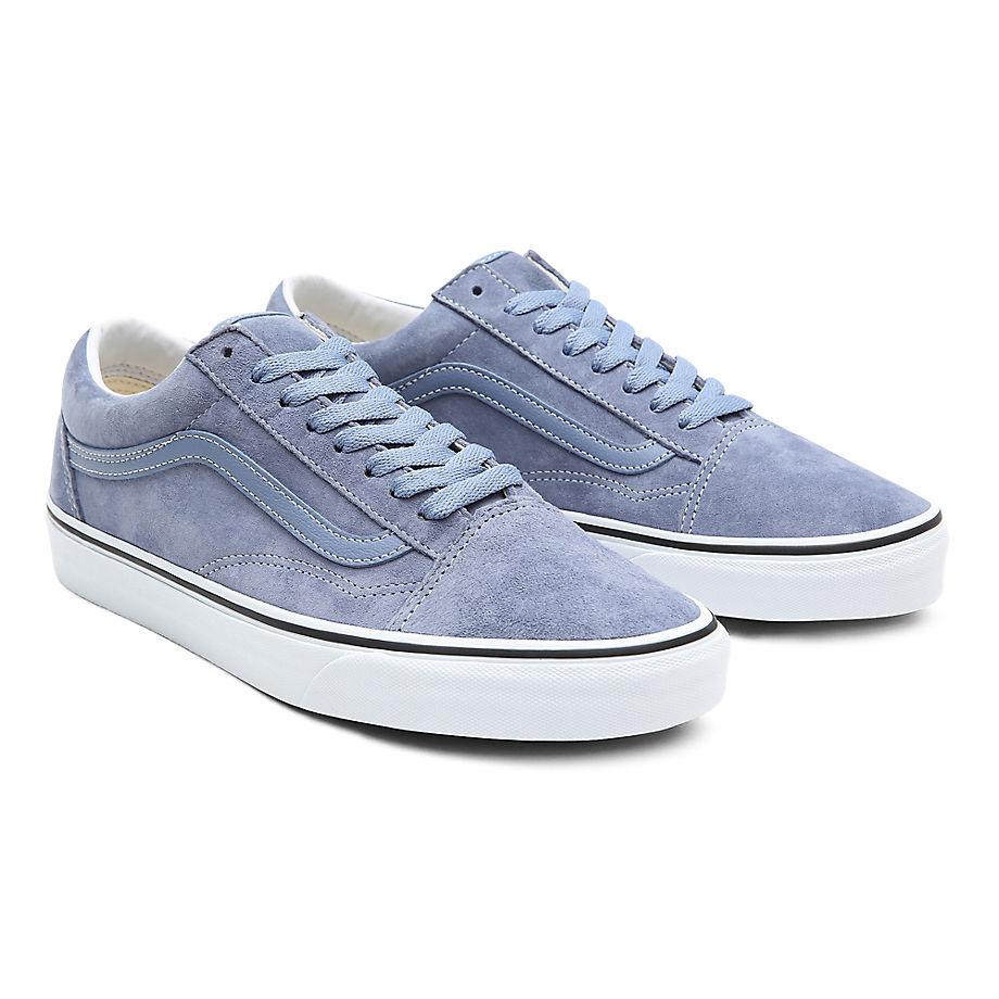Sneaker Vans VANS Zapatillas Old Skool De Ante De Cerdo ((pig Suede) Tempest Blue/true White) Mujer Azul