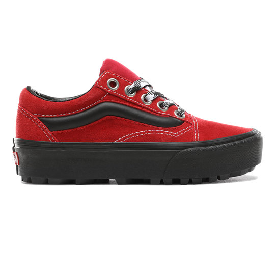 90s Retro Old Skool Lug Platform Shoes | Vans