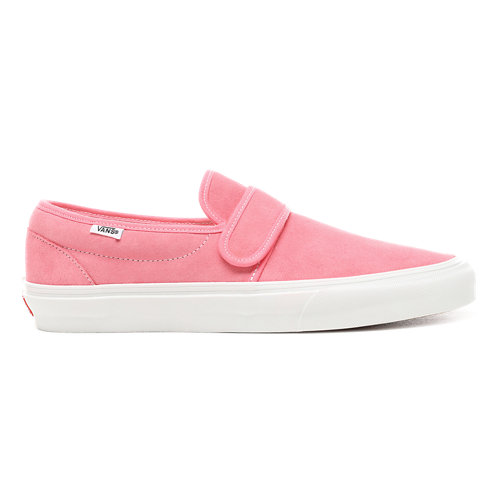 Slip-On+47+V+Velourslederschuhe