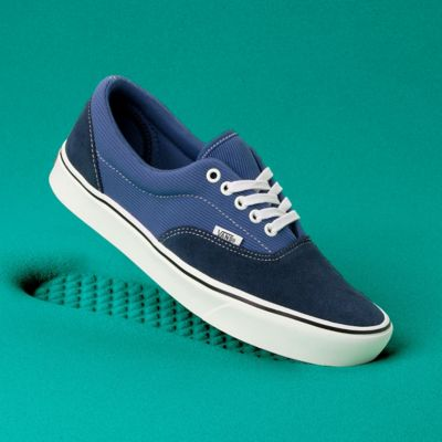blue vans era shoes