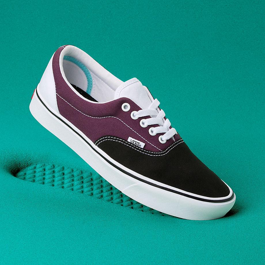 VANS Chaussures Sport Comfycush Era ((sport) Black/prune/true White) Homme Violet, Taille 35