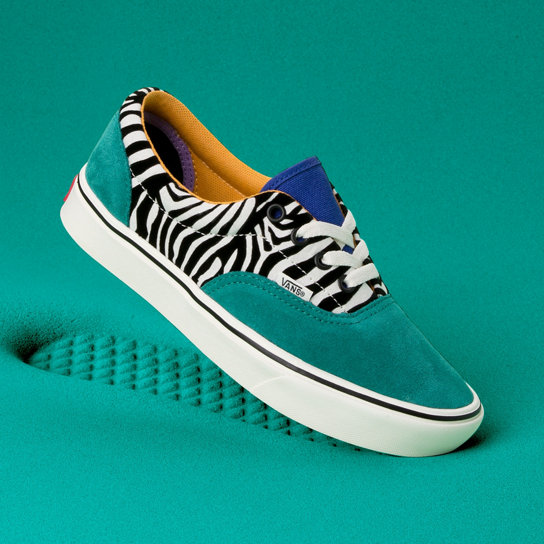 Zebra ComfyCush Era Shoes | Vans