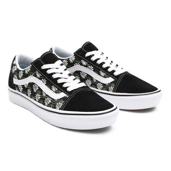 Scribble Flower ComfyCush Old Skool Schuhe | Vans