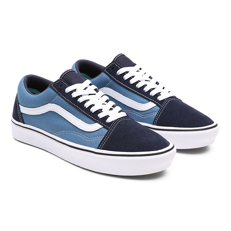 Chaussures Classic Comfycush Old Skool ((classic) Navy/stv Navy) , Taille 34.5 - Vans - Modalova