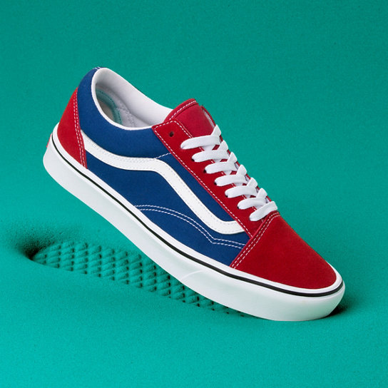 Two tone Comfycush Old Skool Schuhe