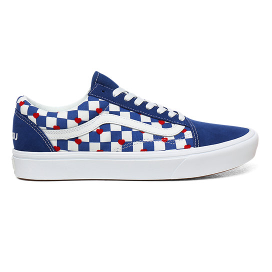 Vans x Autism Awareness ComfyCush Old Skool Shoes