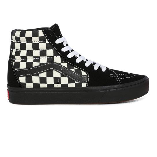 Chaussures Mixed Media ComfyCush Sk8-Hi | Noir | Vans