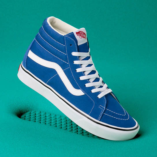 Suede and Canvas Comfycush Sk8-Hi Reissue Shoes | Vans