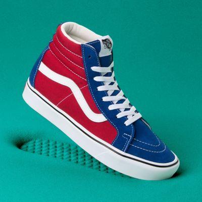 Chaussures Two-Tone Comfycush Sk8-Hi Reissue | Bleu | Vans