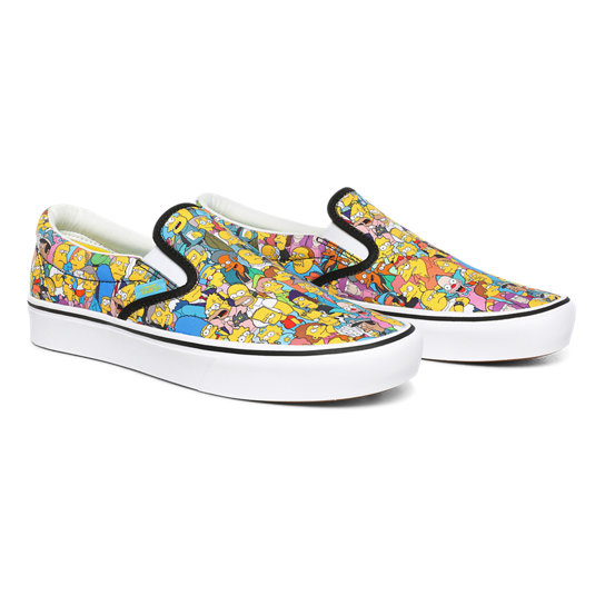The Simpsons x Vans ComfyCush Slip-On Schoenen | Vans