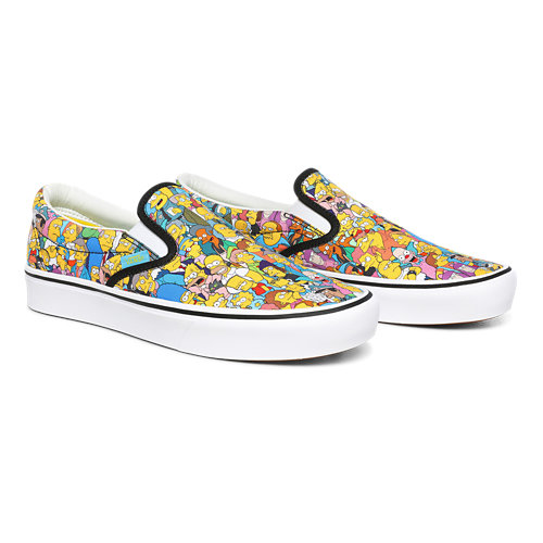 The+Simpsons+x+Vans+ComfyCush+Slip-On