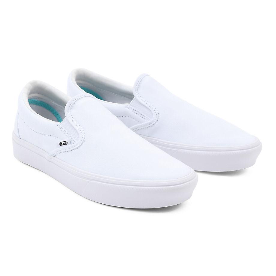 Chaussures Comfycush Slip-on ((classic) True White) , Taille 34.5 - Vans - Modalova