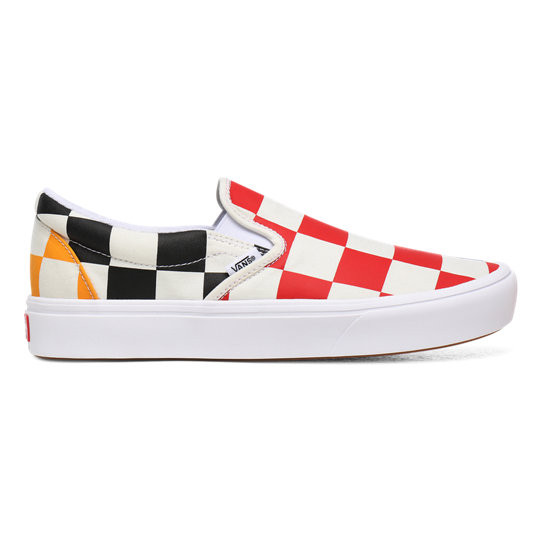 Half Big Checker ComfyCush Slip-On Shoes | Vans