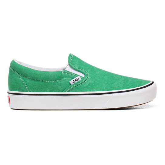Washed Canvas ComfyCush Slip-On Schuhe | Vans