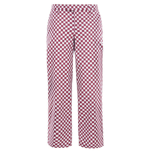 Checkerboard+Authentic+Wide+Leg+Trousers