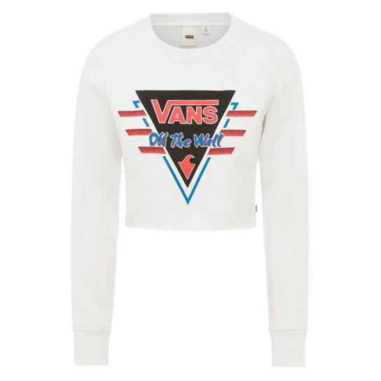 Suma Time Crop Crew Sweatshirt | Vans