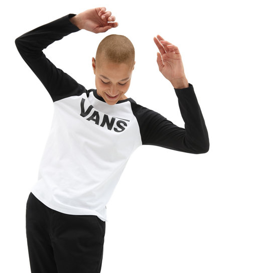 Flying V Long Sleeve Raglan | Vans