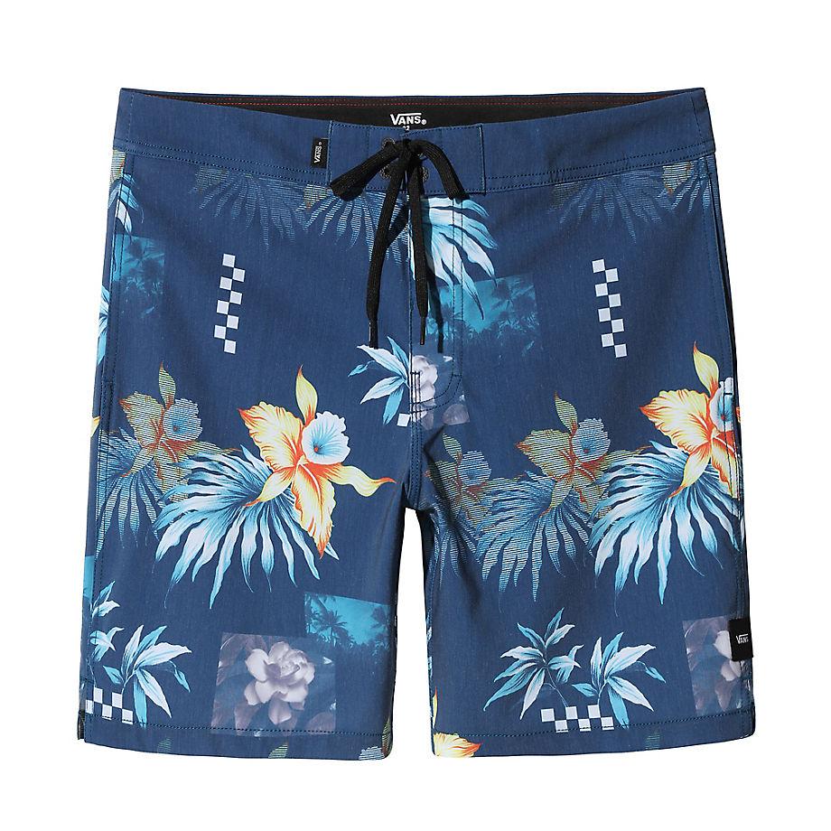 VANS Short De Bain Fountain Valley Floral (fountain Valley Floral) Homme Bleu, Taille 30