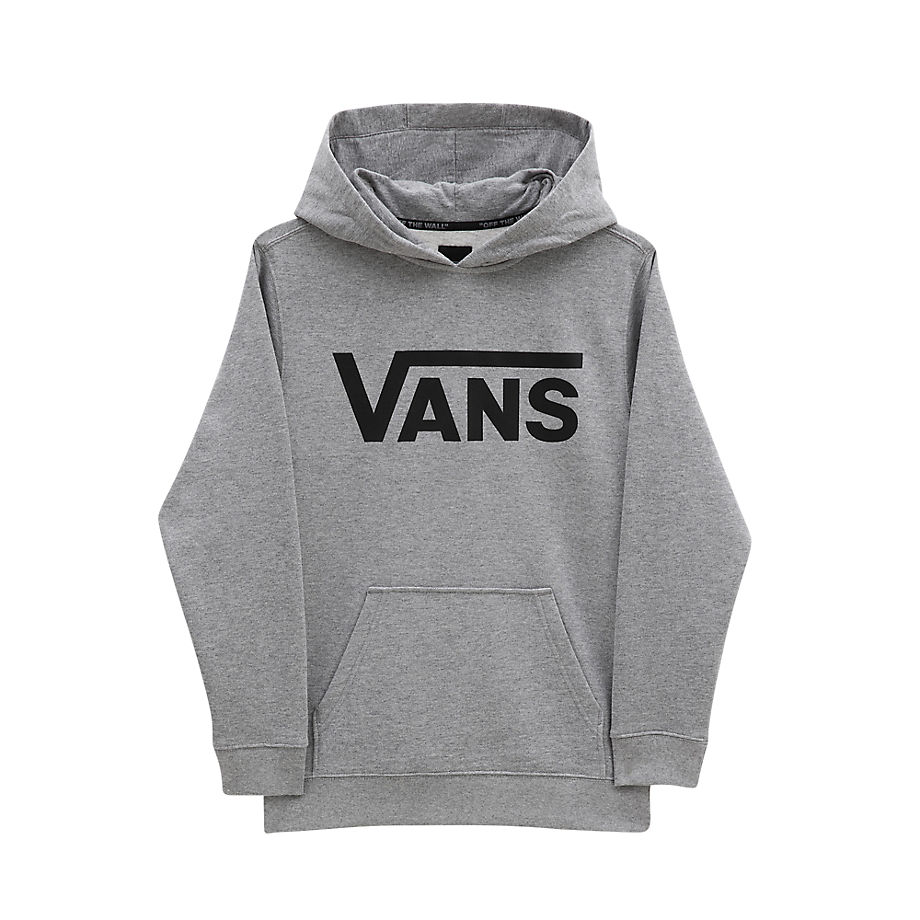 Sweat À Capuche Junior Classic (8-14+ Ans) (cement Heather-black) Boys , Taille L - Vans - Modalova