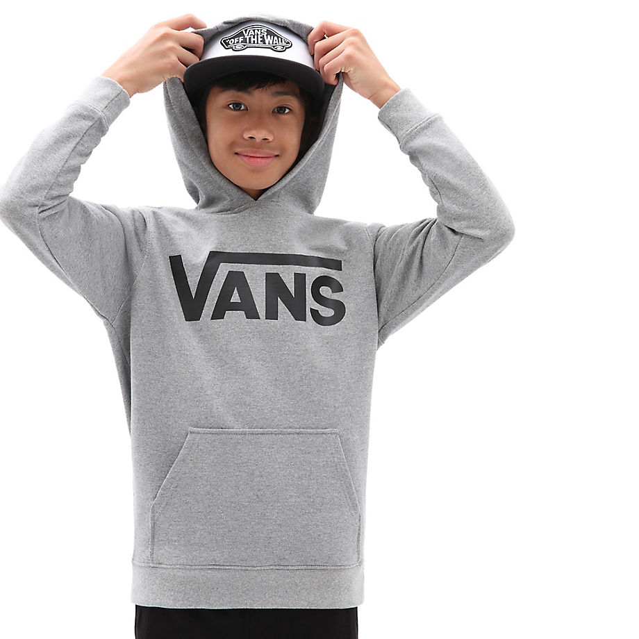 Sweat À Capuche Junior Classic (8-14+ Ans) (cement Heather) Boys , Taille L - Vans - Modalova