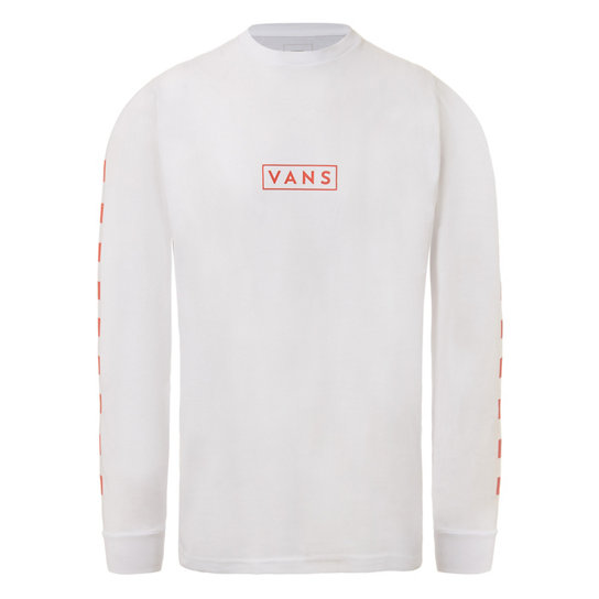 Easy Box Checker Tee met lange mouwen | Vans