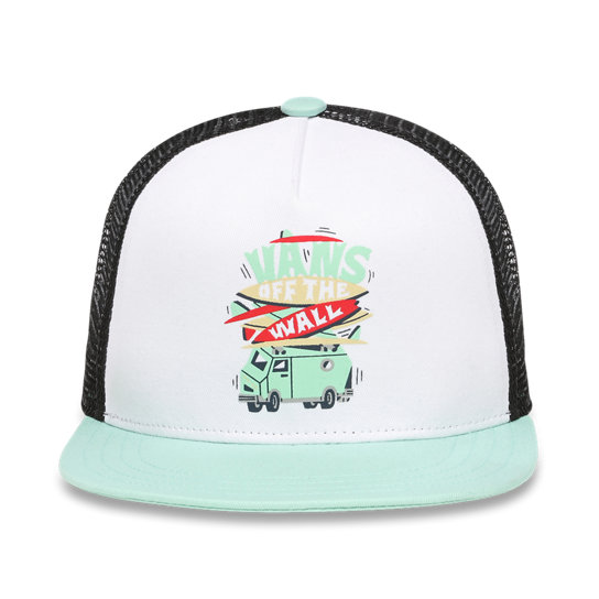 Kids Boarded Up Trucker Hat (8-14+ years) | Vans