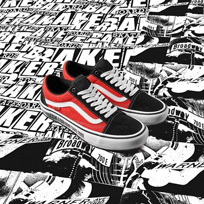 Vans x Baker Old Skool Pro Shoes