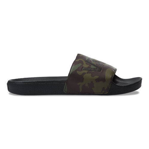 Camo+Slide-On+Schoenen