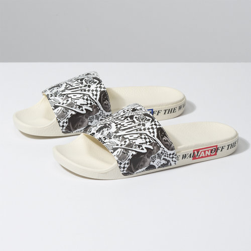 Damen+Vans+Slide-On+Sandalen