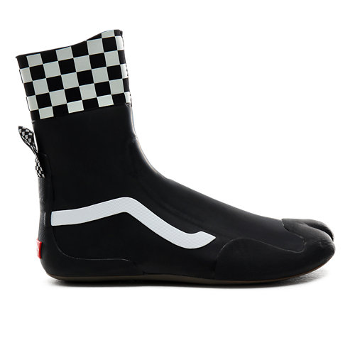 Bottines+de+surf+hautes+Checkerboard