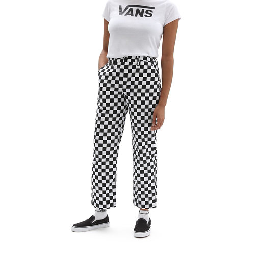 Authentic+Chino+Print+Broek+voor+dames
